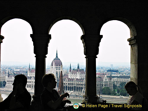 View of Hungarian Parliament Building from Fisherman's Bastion