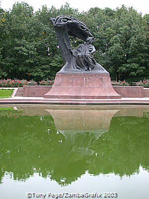 Chopin Monument, Warsaw