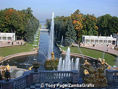 Peterhof (Petrodvorets) - Peter the Great's Palace