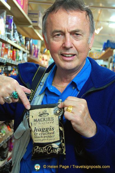 You cannot be serious - Haggis Crisps with black pepper