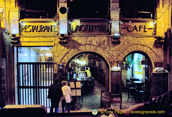 La Catedral restaurant and cafe
