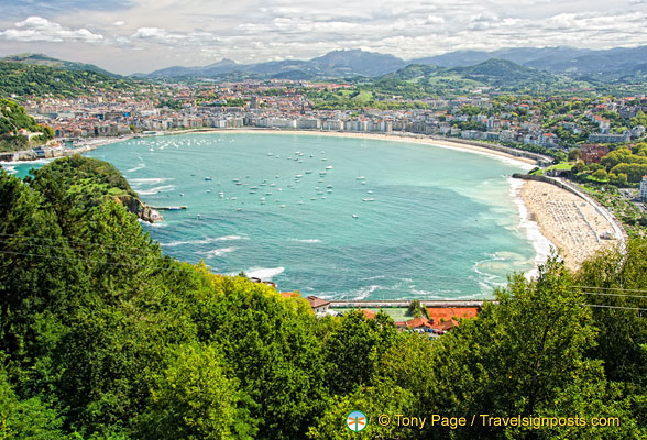 San Sebastian is referred to as ' Pearl of the Cantabrian Sea'