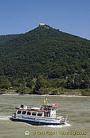 Riverboats of all types and sizes ply the Danube
