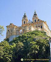 Melk became home to the Benedictine monks in 1089