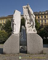 Monument against war and facism