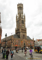 The Belfort is Bruges' most prominent landmark