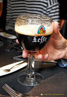 Leffe beer from the Abbaye de Leffe