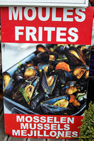 Moules Frites, Belgium's national dish