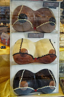 Chocolate breasts are very popular gifts according to the shop assistant