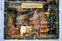 Käthe Wohlfahrt, the famous Rothenburg Christmas shop at Walplein 12