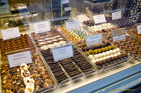 La Belgique Gourmande is full of delicious chocolates