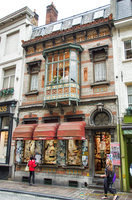 Rococo - a long-established lace shop at Wollestraat 9
