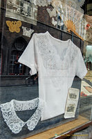 Antique lace at Rococo at Wollestraat 9