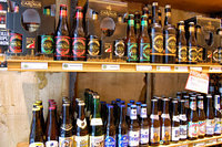 A beer shop in the Galeries Royale Saint-Hubert