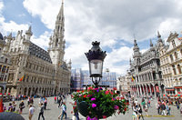 The stunningly beautiful Grand-Place