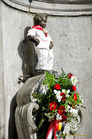 Manneken-Pis from the Grand Place