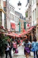 Rue des Bouchers is a popular tourist street