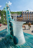 The Water Clock is a countdown to Adolphe Sax's 200th birthday on November 6th