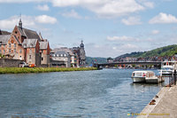 Dinant on the River Meuse