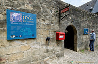 Orval Abbey entrance