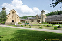 Orval Abbey church