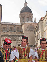 Performance in front of Dubrovnik City Hall