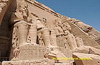Great Temple of Abu Simbel - Statues of Ramses II