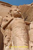 The facade was discovered by Swiss explorer Jean-Louis Burckhardt in 1813.