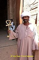 The Ankh was a symbol of eternal life for the ancient Egyptians