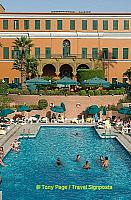 It was built for Empress Eugenie of France, wife of Napoleon III.