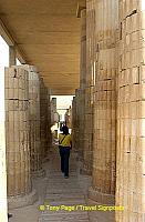 The vast enclosure surrounding the step pyramid was another achievement.