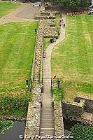 Path leading to the Norman keep