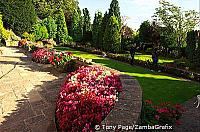 Beautiful garden of Croft House