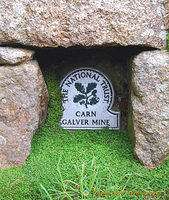 This Galver Tin Mine is a National Trust heritage site