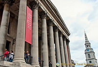 Columns of The National Gallery