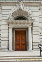 HM Treasury - eastern entrance