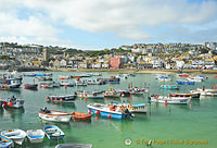 St Ives Bay and St Ives town