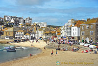 St Ives beach front