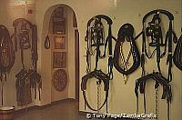 Bridles for the Brewery dray-horses, Tadcaster [Yorkshire - England]