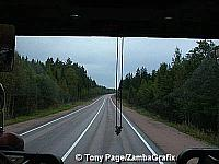 Through the Finnish forests towards Russia