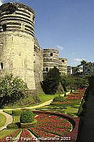 9th century Chateau d'Angers