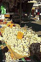 The village of Chateaubriant, and it's market day!