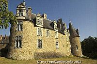 A chateau in Chateaubriant