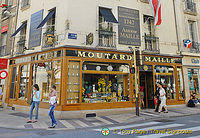 Moutarde Maille shop, established since 1747