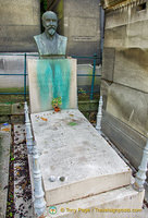 Grave of Georges Méliès, the famous French filmmaker and innovator