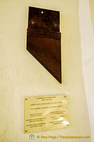Guillotine blade believed to have been used on Lacenaire, a notorious murderer