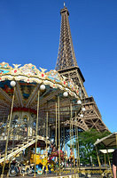Carousel by the Eiffel Tower