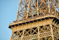 Viewing gallery of the Eiffel Tower