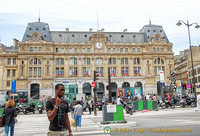 Gare Saint Lazare on 13 rue d'Amsterdam, 75008 Paris