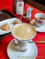 Great cups of Illy coffee